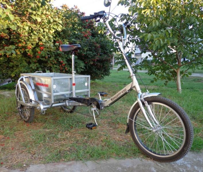 Грузовой велосипед. Модель 2013 г.