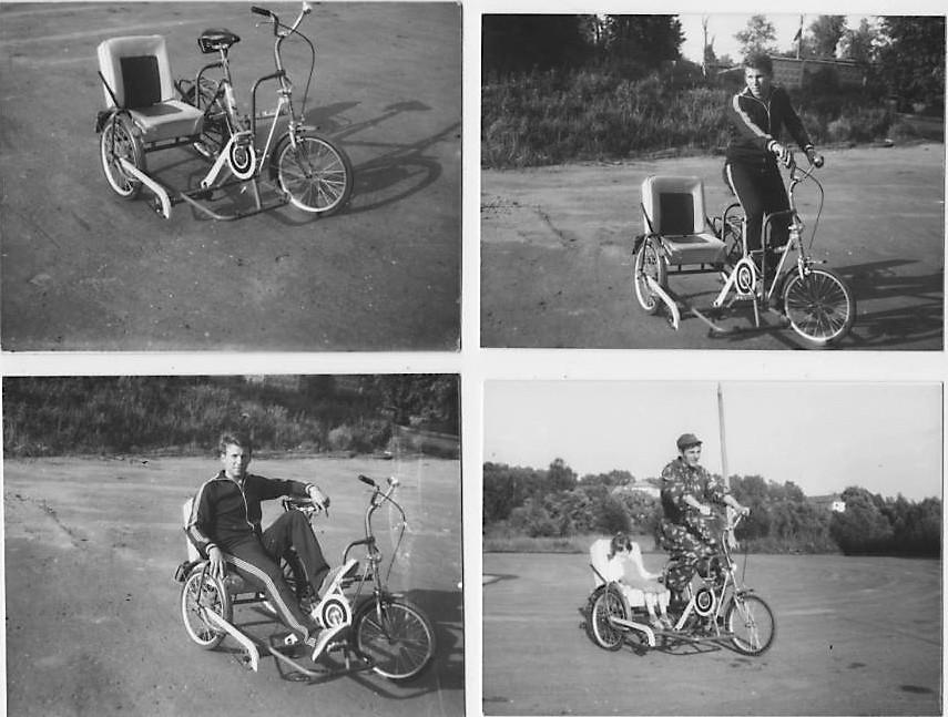 Велоколяска Мир обр. 1988-1989г.г.